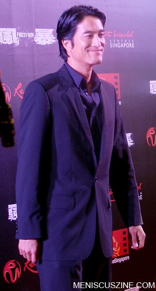 "Jack Yang – ""Firestorm"" (風暴) World Premiere"
