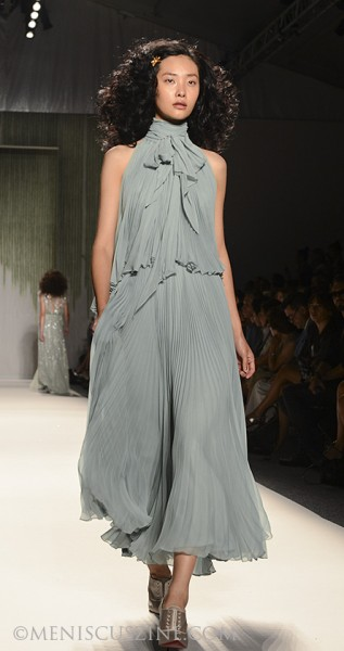 Jenny Packham Spring 2014 - New York Fashion Week - Meniscus Magazine