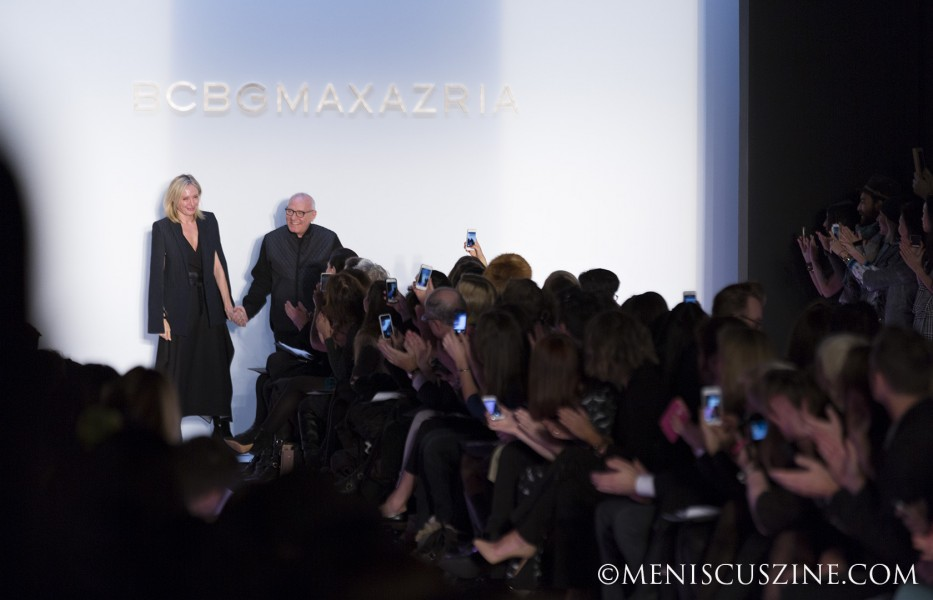 Co-designers - and husband-and-wife team - Lubov and Max Azria. (photo by Kwai Chan / Meniscus Magazine)