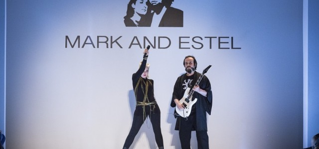 The Fall 2014 collection marked the L.A.-based fashion designer/musician duo of Mark Tango and Estel Day's second showing in New York.