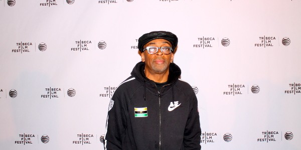 "Headlining the list of red carpet guests at the North American premiere of ""Manos Sucias"" was executive producer Spike Lee."