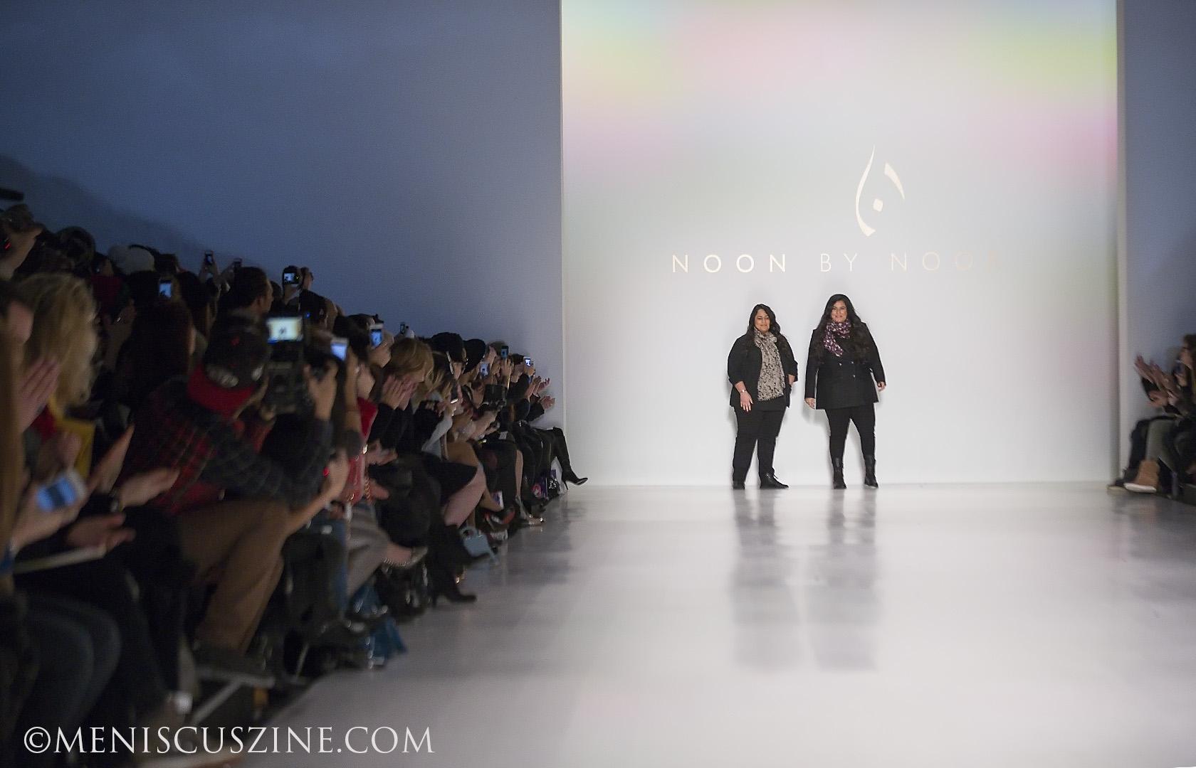 Cousins Shaikha Haya Al Khalifa and Shaikha Noor Al Khalifa head the Bahraini fashion label Noon by Noor. (photo by Kwai Chan / Meniscus Magazine)