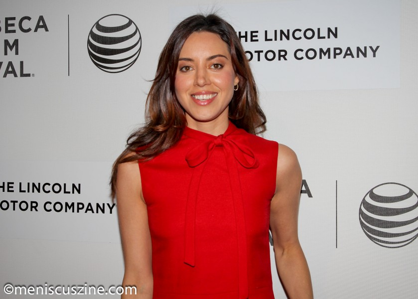 """""""Parks and Recreation"""" actress Aubrey Plaza, who plays the role of Sarah in """"About Alex."""" (photo by Yanek Che / Meniscus Magazine)"""
