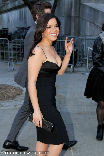 America Ferrera at Vanity Fair's 2014 Tribeca Film Festival Party. (photo by Yanek Che / Meniscus Magazine)