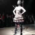 As expected, alice auaa designer Yasutaka Funakoshi presented a fantastical and theatrical Fall 2014 show to his super-loyal fans.