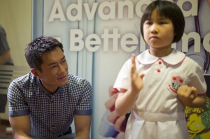"Tao (Louis Koo) and his daughter Chloe (Lee Man Kwai) in ""Aberdeen."" (still courtesy of the Hong Kong International Film Festival)"