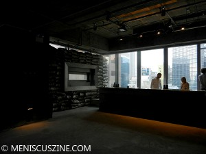 Nadim Abbas converted the 17th floor of the new Soundwill Plaza II in Causeway Bay into a bunker - and a bar. (photo by Yuan-Kwan Chan / Meniscus Magazine)