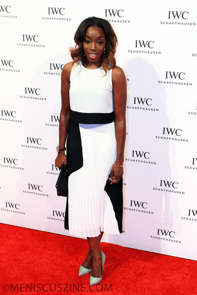 "Estelle - IWC Schaffhausen ""For the Love of Cinema"" Celebration - 2014 Tribeca Film Festival red carpet"