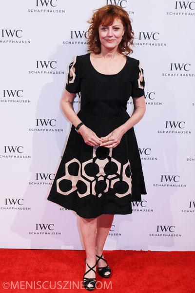 Susan Sarandon in a dress from the Vivienne Tam Spring 2013 collection. (photo by Ekaterina Golovinskaya / Meniscus Magazine)