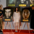 """Three of the four leads in """"Overheard 3"""" promoted the film and unveiled character posters during the 2014 Hong Kong International Film Festival."""