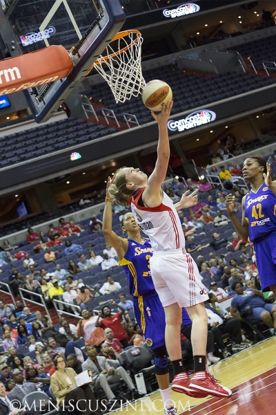 Emma Messeman, one of the Washington Mystics' three bigs. (photo by Kwai Chan / Meniscus Magazine)