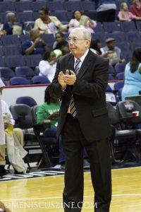 Mike Thibault, head coach of the Washington Mystics. (photo by Kwai Chan / Meniscus Magazine)