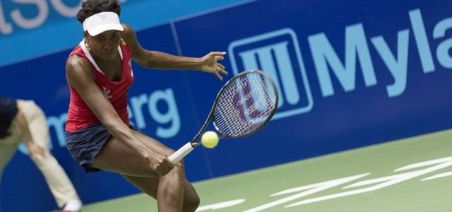 Although Washington's July 16 win over the Texas Wild was a team effort, the evening clearly belonged to one Kastles player, Venus Williams.