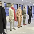"Photos from Korean designer Kim Seo Ryong's Fall 2014 menswear presentation - titled ""Ego Trip"" - at New York Fashion Week."