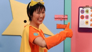 "Cindy Cheung as Sam in ""Happy Fun Room."" (still courtesy of ITVS)"