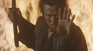 "Sonny Chiba in ""Samurai Reincarnation."" (still courtesy of Visual Communications)"