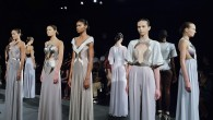 Photos from the Alon Livné Spring 2015 presentation, which took place at Lincoln Center. The Israeli designer previously worked for Roberto Cavalli.