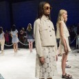 Photos from the Charlotte Ronson Spring 2015 presentation, which took place at Lincoln Center.