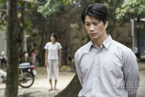 """Nguyen Thanh Tu (left) and Dustin Nguyen in """"Gentle."""" (photo courtesy of Coco Paris LLC)"""