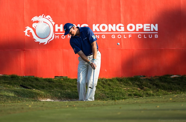 Four-time major champion Ernie Els tied for fifth place. (photo by Christiaan Hart / Meniscus Magazine)
