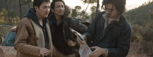"The three main characters in Han Han's ""The Continent."" (photo courtesy of the Busan International Film Festival)"