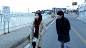"""Lee Hwa (left) and Kim Sangseok in """"We Will Be OK."""" (photo courtesy of the Busan International Film Festival)"""