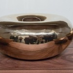 Alma Allen _ Large round bronze bowl, edition 18 of 25