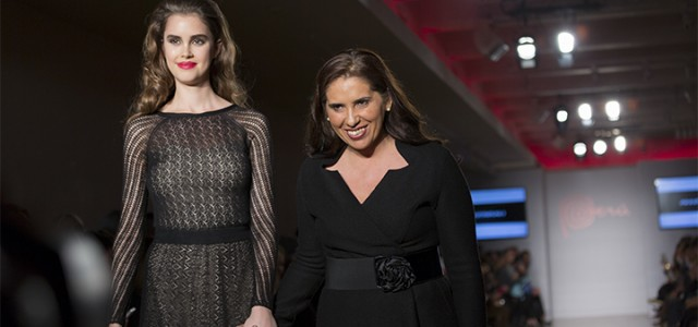 Focusing on natural materials and fibers in its womenswear, the Peruvian label Anntarah took part in the inaugural PerúMODA in New York 2014 runway show.