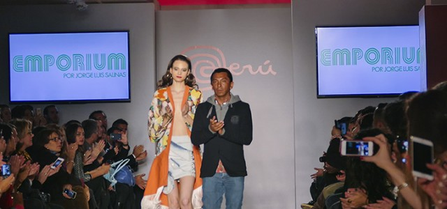 Emporium por Jorge Luis Salinas took part in the inaugural PerúMODA in New York event.  It was also featured at Lima Fashion Week last month.