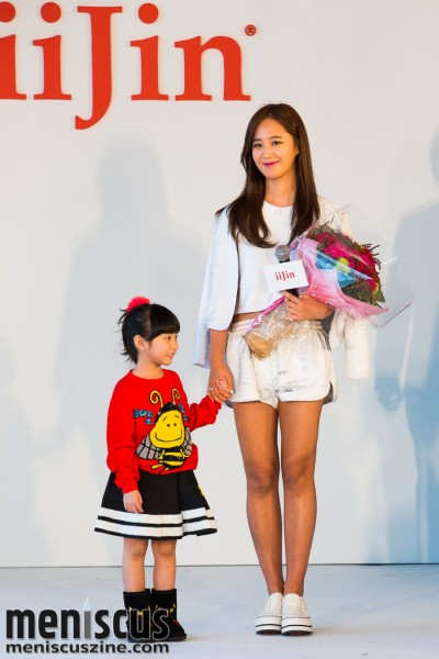 Yuri Kwon - Girls Generation - iiJin Hong Kong fashion show 2015