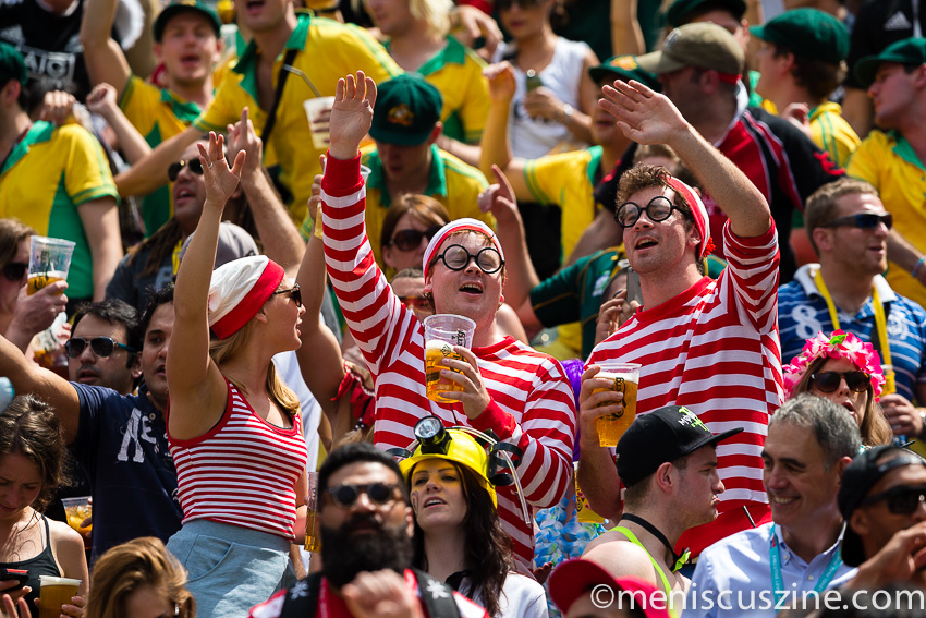 Who's the real Waldo? (photo by Christiaan Hart / Meniscus Magazine)