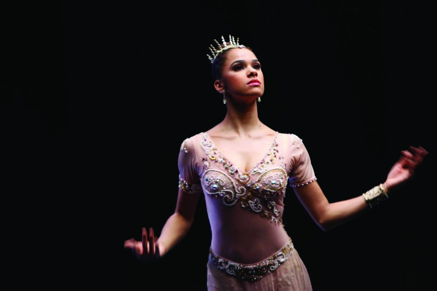 "A still of Misty Copeland in ""A Ballerina's Tale."" (photo by Oskar Landi / courtesy of the Tribeca Film Festival)"