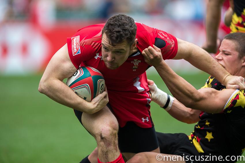 Hong Kong Sevens 2015: Wales 38, Belgium 7. (photo by Christiaan Hart / Meniscus Magazine)