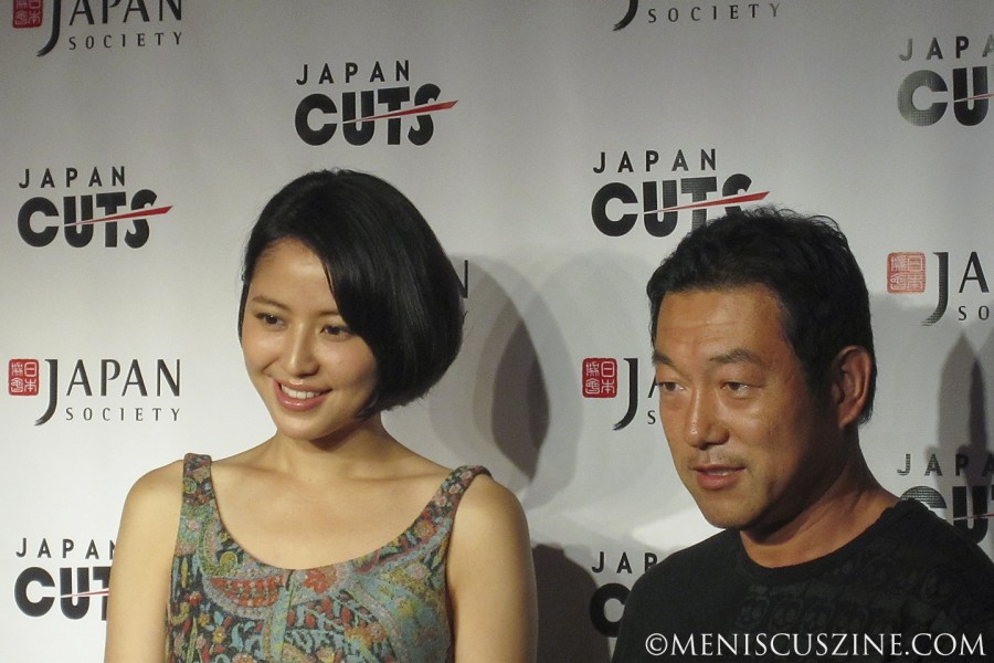 """In """"Love Strikes!,"""" Masami Nagasawa (left) plays the character of Miyuki, a performance for which she won the 2012 Japanese Academy Award for Best Supporting Actress. (photo by Wade-Hahn Chan / Meniscus Magazine)"""
