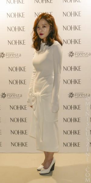 Actress Hwang Bo Ra (황보라) (photo by Yuan-Kwan Chan / Meniscus Magazine)