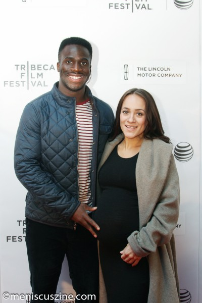 New York Giants cornerback Prince Amukamara and wife Pilar Davis. (photo by Yanek Che / Meniscus Magazine)