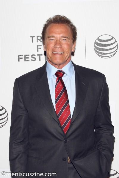 Arnold Schwarzenegger (photo by Yanek Che / Meniscus Magazine)