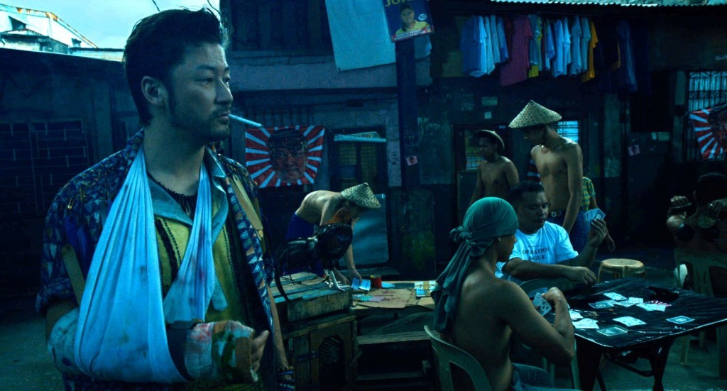 "Tadanobu Asano (left) in ""Ruined Heart – Another Love Story Between a Criminal & a Whore."" (still courtesy of the Bucheon International Fantastic Film Festival)"