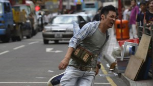 "Shawn Yue in Ringo Lam's ""Wild City."" (still courtesy of the Fantasia International Film Festival)"