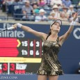 From a women's tennis fashion perspective, the talk of the 2015 Rogers Cup was Agnieszka Radwanska's new tennis dress from Lotto.