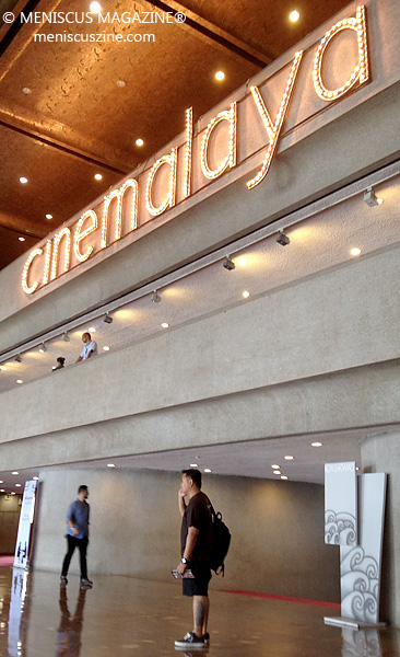 All that glitters is gold at Cinemalaya 2015. (photo by Rex Baylon / Meniscus Magazine)