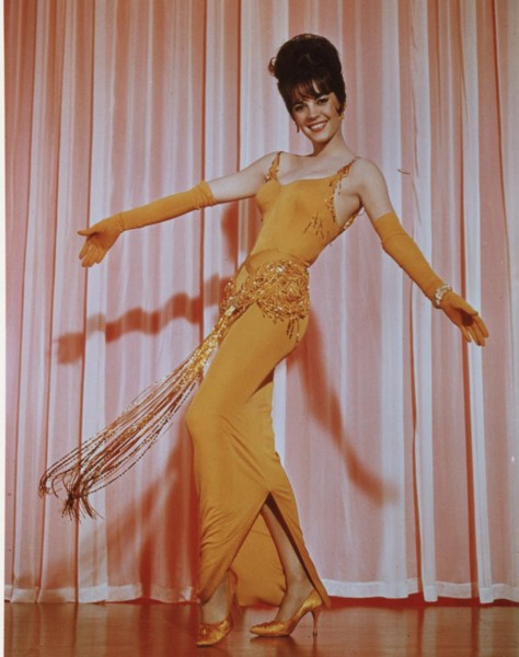 "The actress Natalie Wood wearing an Orry-Kelly design in ""Gypsy."" (still courtesy of ""Women He's Undressed"")"