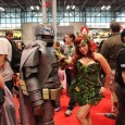 Our photos from New York Comic Con 2015: An early prep for Halloween; a chance for artists to shine; and a display of inanimate humans, robots and animals.