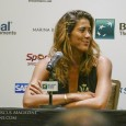 The clear fashion winner at the WTA Finals All-Access Hour was the youngest player in the singles draw, the 22-year-old Spaniard Garbiñe Muguruza.