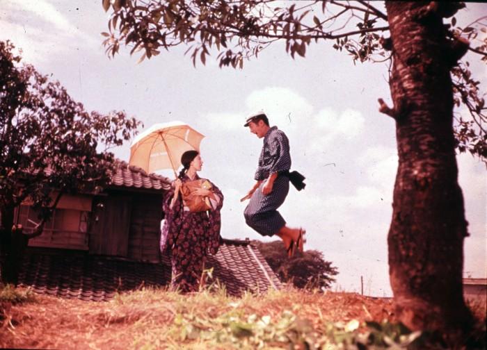 "Keiko Kishi (left) and Hiroshi Kawaguchi in ""Her Brother."" (still courtesy of Berlinale)"