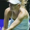 Maria Sharapova won all of her round robin matches but fell short in the semifinals, losing to Petra Kvitova, 6-3, 7-6 (3).