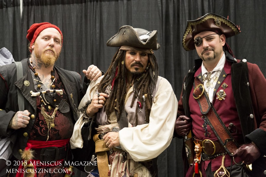 "A dead ringer for Johnny Depp / Jack Sparrow in ""Pirates of the Caribbean."" (photo by Kwai Chan / Meniscus Magazine)"