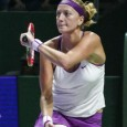Petra Kvitova was up a break in the third set but couldn't sustain her momentum, falling 6-2, 4-6, 6-3 to Agnieszka Radwanska in the WTA finals title match.