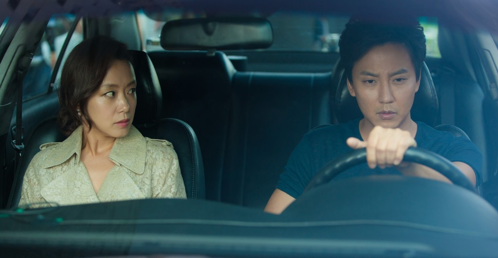 "Jeon Do-yeon (left) and Kim Nam-gil in ""The Shameless."" (still courtesy of the Korea Society / NYKFF 2015)"