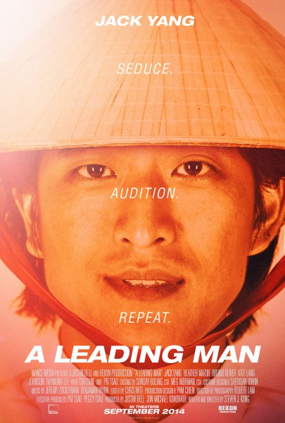 "The poster for ""A Leading Man,"" featuring Jack Yang in the lead role of GQ. (courtesy of ""A Leading Man"")"